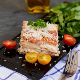 Alba catering ski oslo overtidsmat lasagna