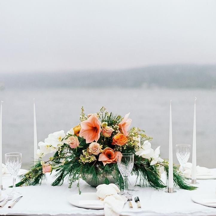 fru bratten blomster pynting dekor wedding bryllup alba catering partner