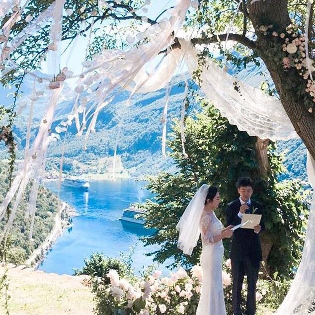 ro & raff blomster pynting dekor wedding bryllup alba catering partner