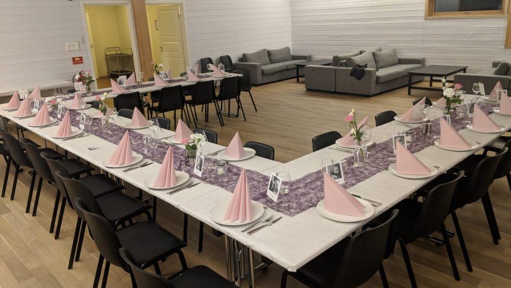 Speiderhuset langhus selskapslokale partner alba catering ski nedre follo