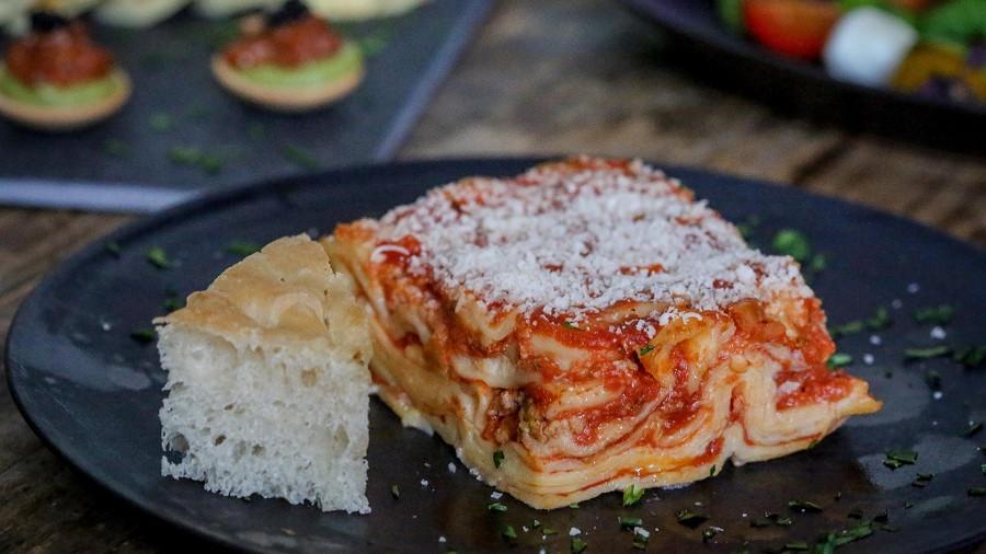 alba catering italiensk kokekunst oslo viken bærum nordre follo romerike lasagna